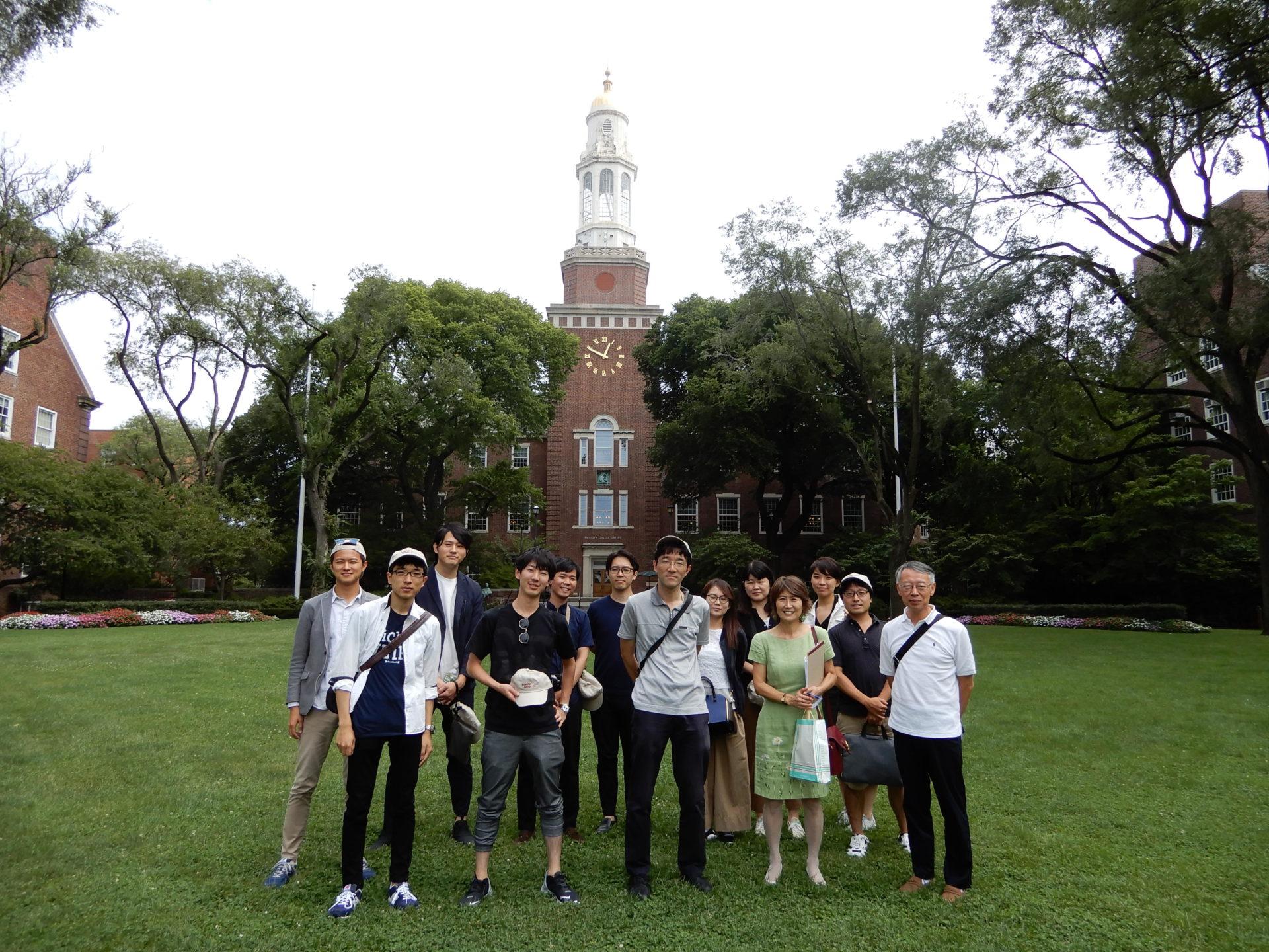2018年度 ニューヨーク国際研修プロジェクト